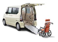 福祉・介護車両カーリース福祉・介護車両 ホンダ N-BOXプラス 車いす仕様車