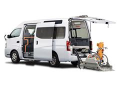 福祉・介護車両カーリース福祉・介護車両 日産 NV350キャラバン ライフケアビークル