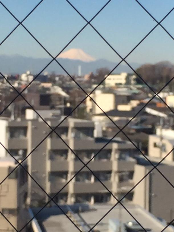 今日の富士山170310