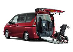 福祉・介護車両カーリース福祉・介護車輌 日産セレナ スロープ(車いす1名仕様)