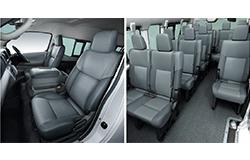 NV350キャラバンマイクロバス座席