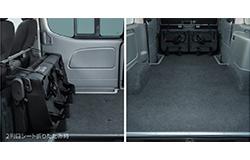 NV350キャラバンバンプレミアムGX荷室