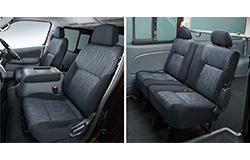 NV350キャラバンバンプレミアムGX座席