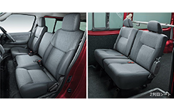 NV350キャラバンバンVX座席
