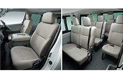 NV350キャラバンワゴンGX座席