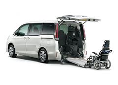 福祉・介護車両カーリースノア 車いす仕様車 タイプⅡ サードシート付
