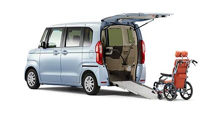 福祉・介護車両カーリースホンダ N-BOX 車いす仕様車