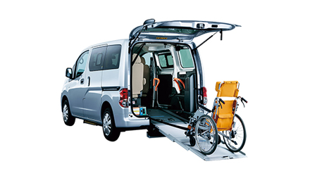 福祉・介護車両カーリース福祉・介護車両 日産 NV200バネット チェアキャブ